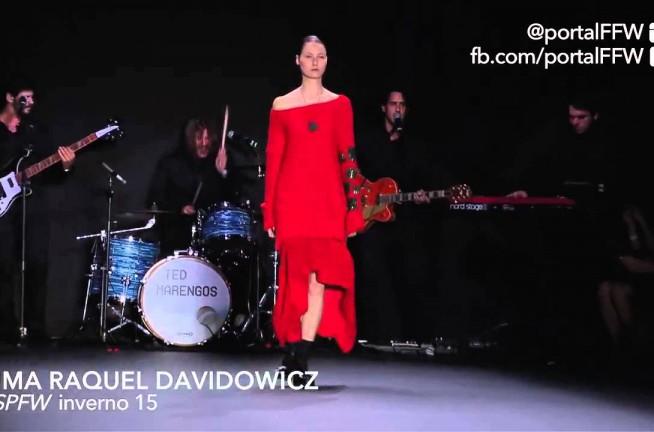 Uma Raquel Davidowicz Desfiles Moda Uma Raquel