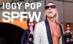 Iggy Pop no SPFW