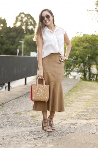 Street style do primeiro dia do SPFW