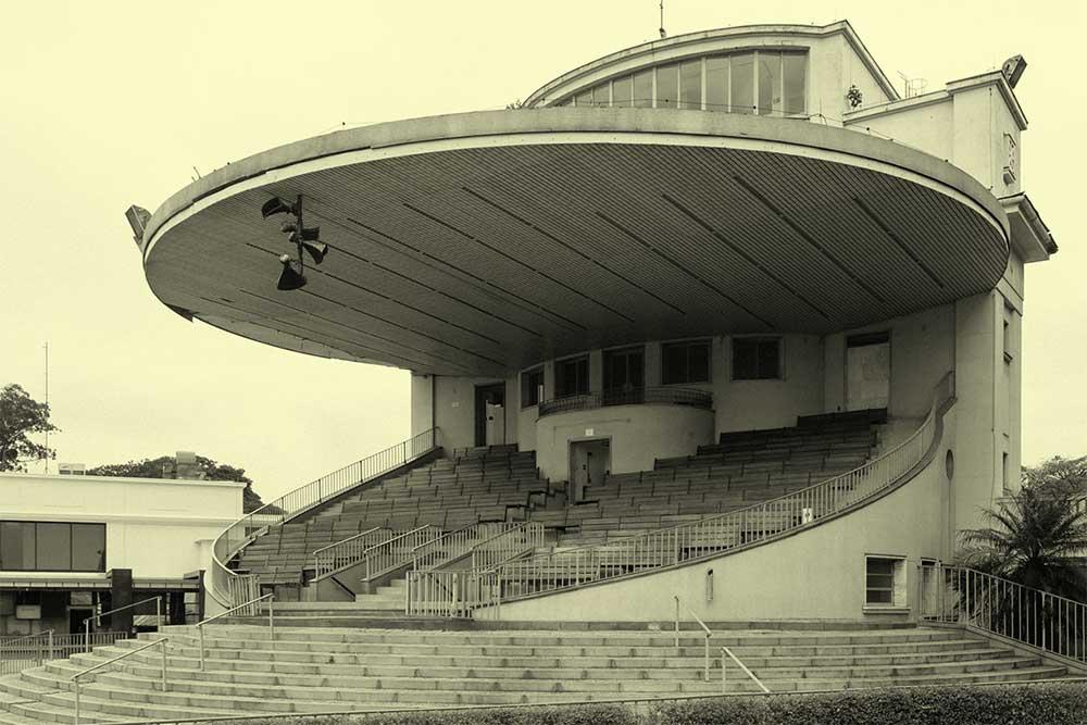 Imagem antiga do Jockey Club, que recebe o Dekmantel em São Paulo ©Reprodução