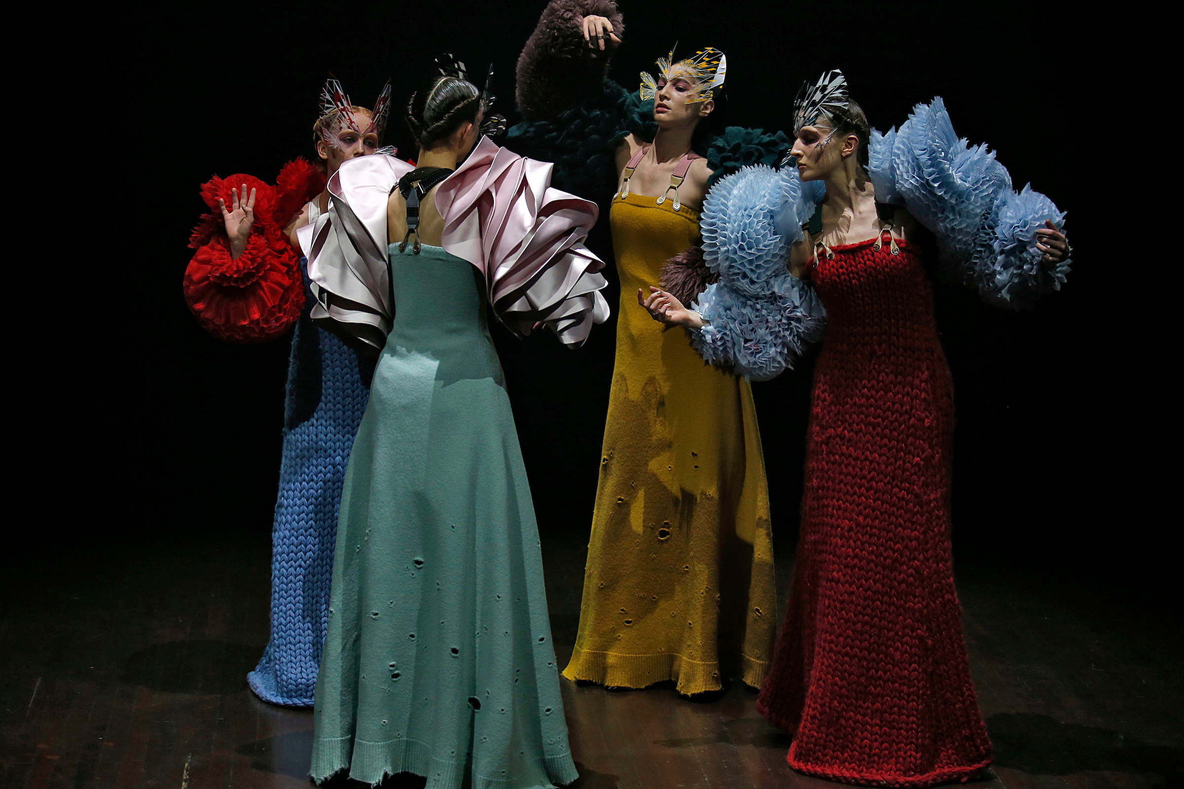 Performance da Undercover por Jun Takahashi ©Agência Fotosite