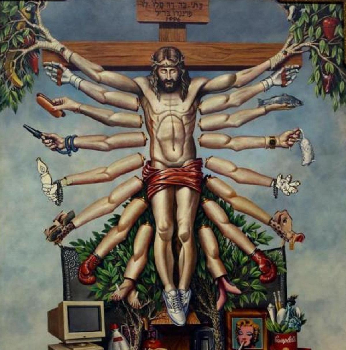 Cruzando Jesus Cristo Deusa Schiva, de Fernando Baril