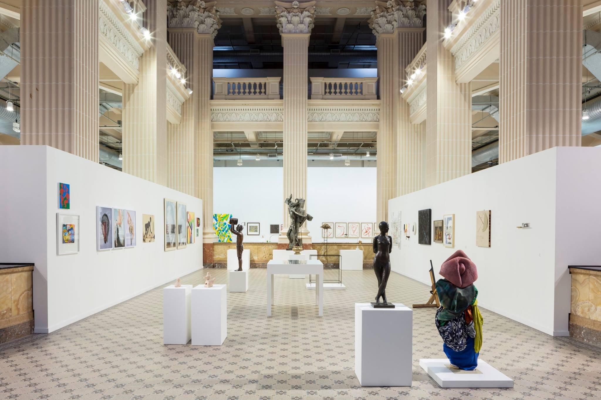 Salão com a exposição Queermuseu, no Santander Cultural / Reprodução