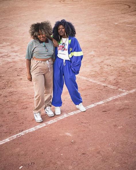 Iris e Anne Oliveira / Instagram