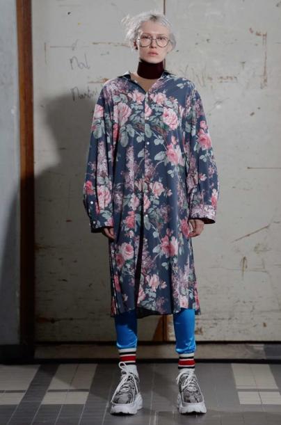 Look de Junya Watanabe para o Inverno 19 / Reprodução