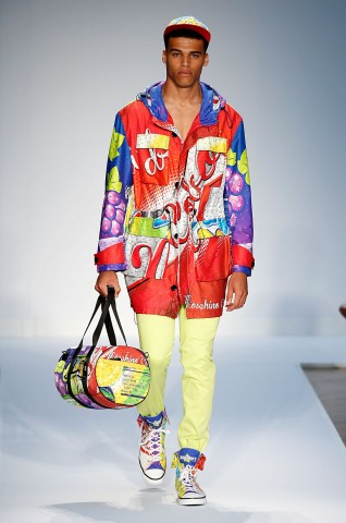 Moschino Menswear Spring Summer 2015 London Fashion Week June 2014