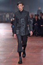 Alexander McQueen London Menswear Fall Winter 2015 January 2015