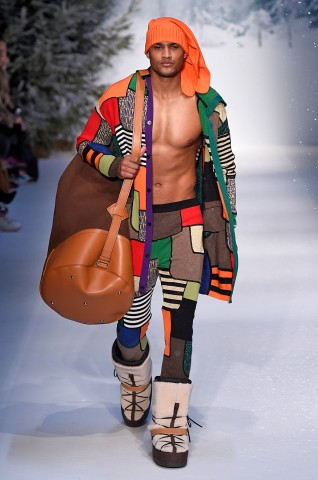 Moschino London Menswear Fall Winter 2015 January 2015