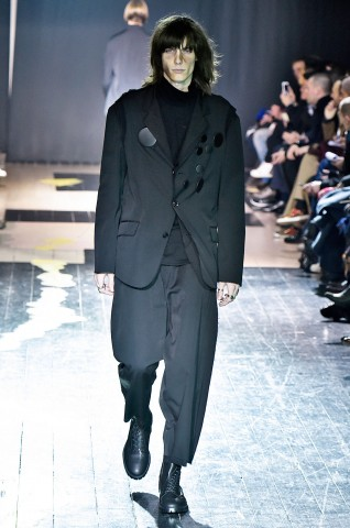 YamamotoParis Menswear Fall Winter 2015 January 2015