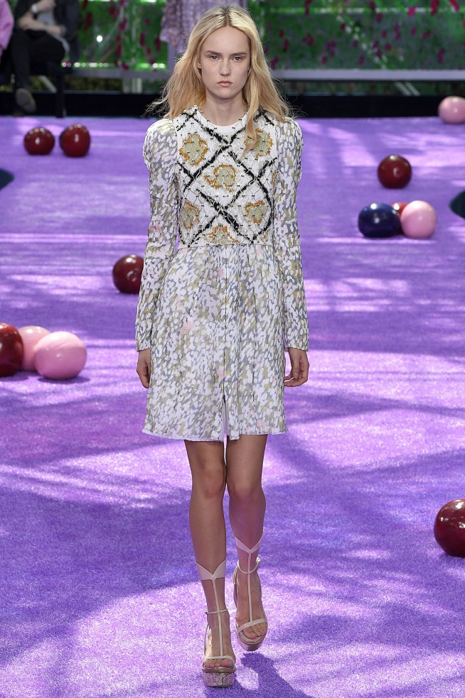 Christian Dior Paris Haute Couture Fall Winter 2015 July 2015