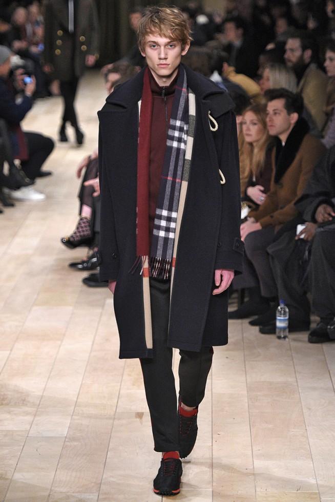 Burberry Londres Masculino - Inverno 2016 foto: FOTOSITE