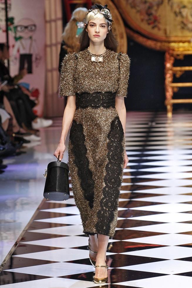 Dolce Gabbana Milao - Inverno 2016 foto: FOTOSITE