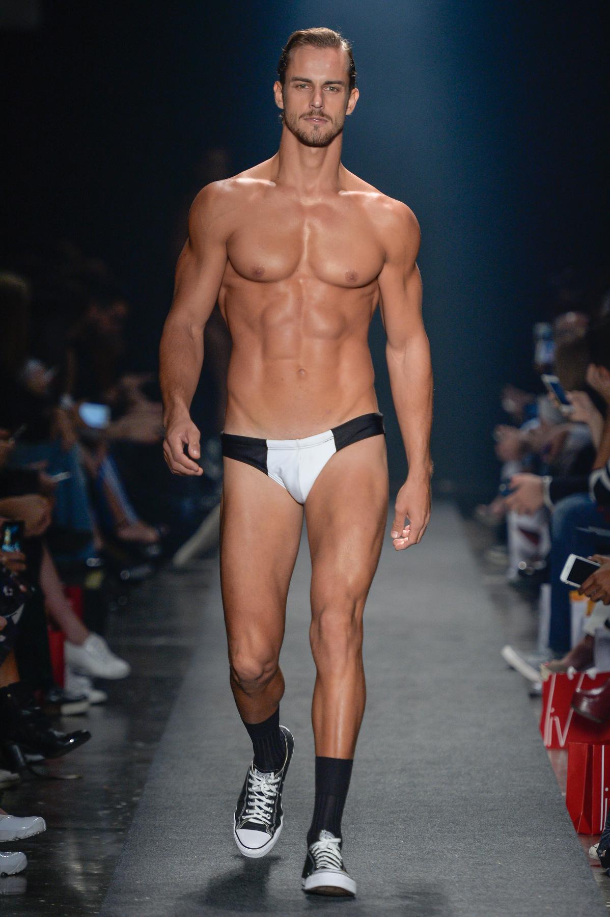 Mens Underwear Fashion Show Photos