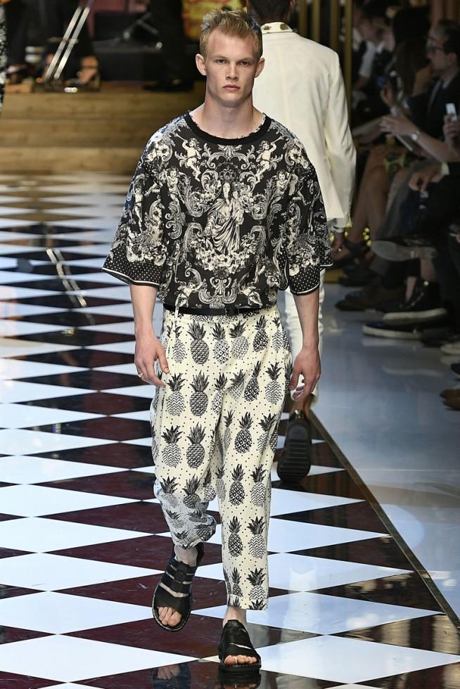 Dolce Gabbana Milão Masculino- Verão 2017 junho/2016 foto: FOTOSITE
