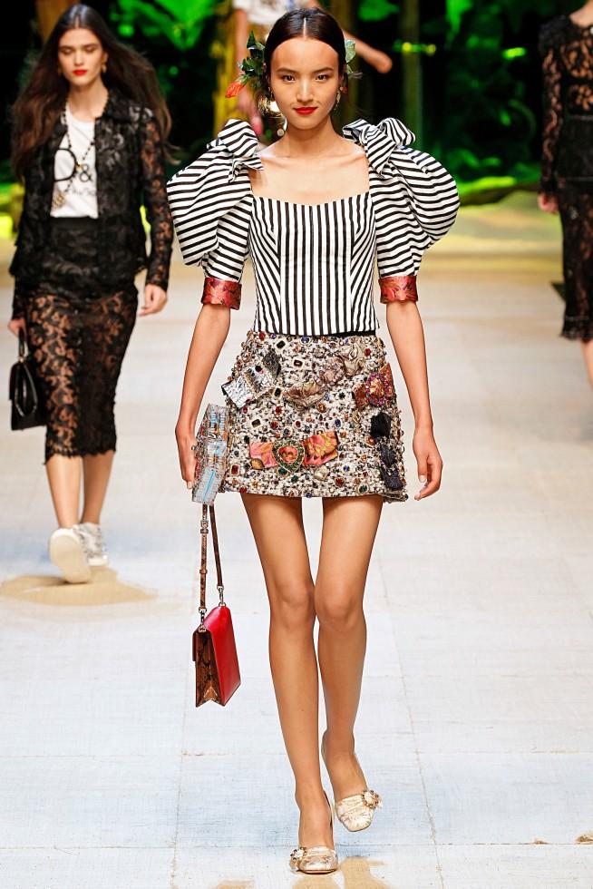 Dolce Gabbana MILAO - Verao 2017 Setembro 2016 foto: FOTOSITE