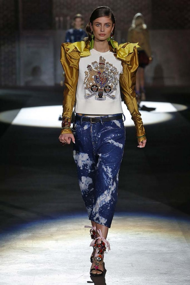 Dsquared2 Milan RTW Spring Summer 2017 September 2016