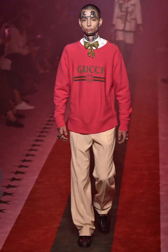 Gucci Milan RTW Spring Summer 2017 September 2016