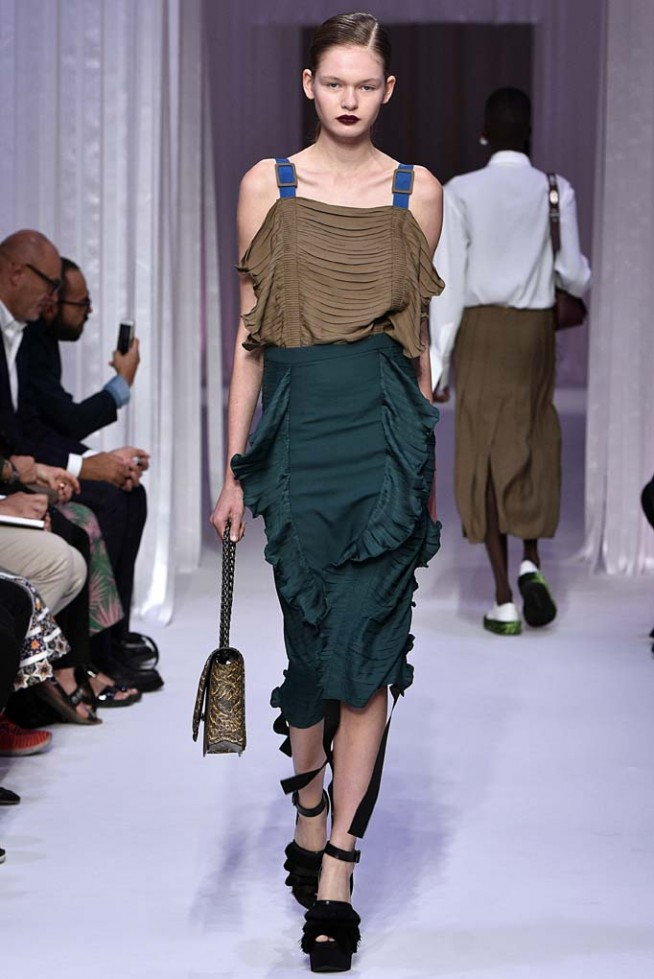 Marco De Vincenzo Milan RTW Spring Summer 2017 September 2016