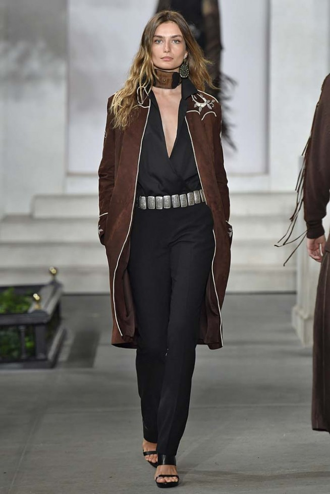 Ralph Lauren Women New York RTW Spring Summer 2017 September 2016