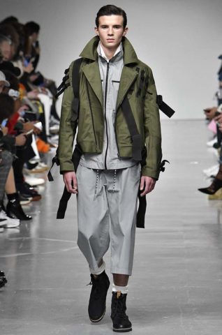 Cristopher Raeburn London Menswear Fall Winter 2017 January 2017