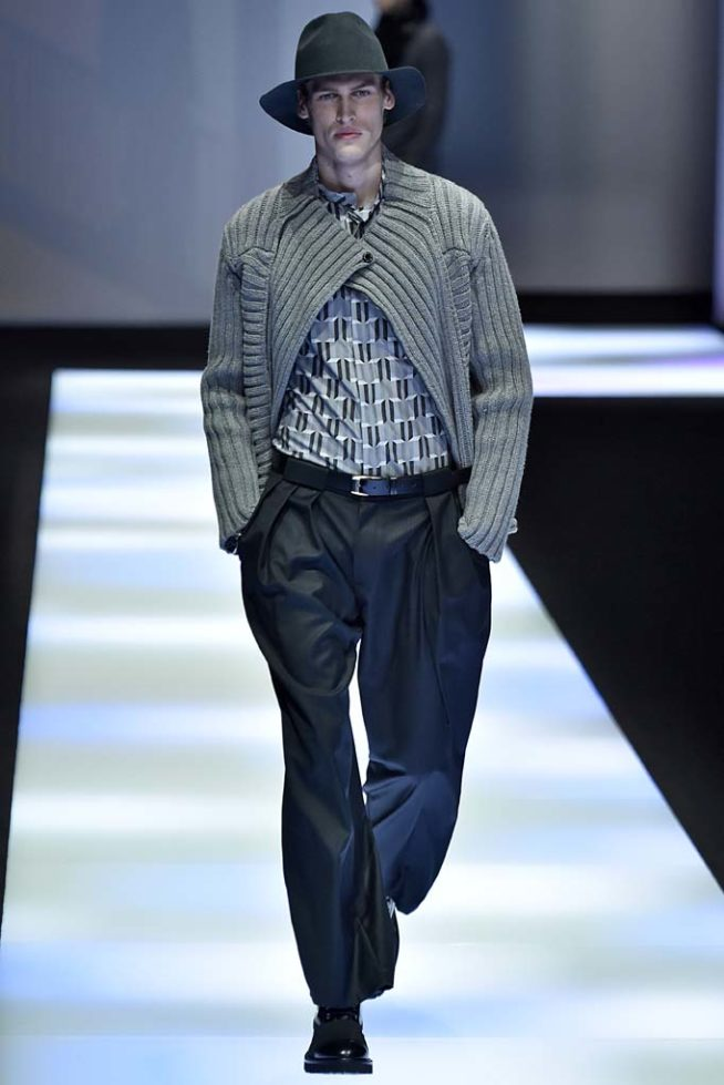 Emporio Armani Milan Menswear Fall Winter 2017 January 2017