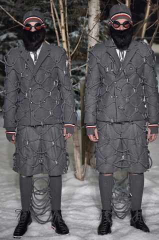 Moncler Gamme Bleu Milan Menswear Fall Winter 2017 January 2017