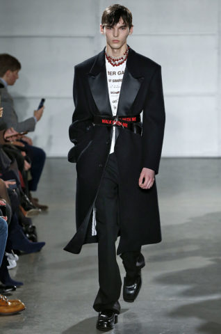 Raf Simons New York Menswear FW17 New York Jan Feb 2017