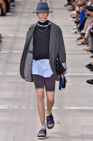 Louis Vuitton Paris Menswear Spring Summer 2018 Paris June 2017- foto: Agencia Fotosite