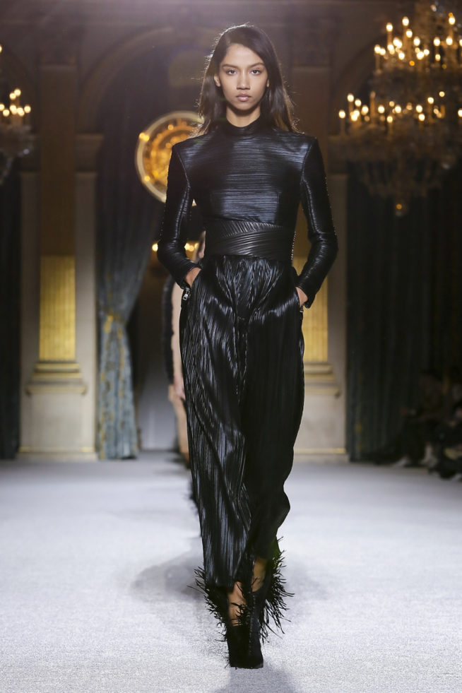 Balmain Ready To Wear Collection Fall Winter 2018 in Paris