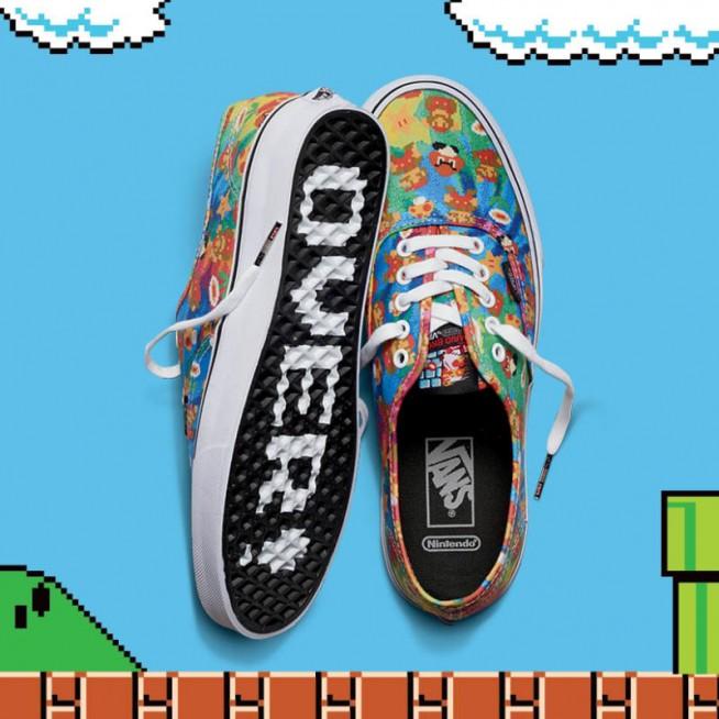 89af01df90e3da 13.09.2016   Moda   por FFW. Vans x Nintendo