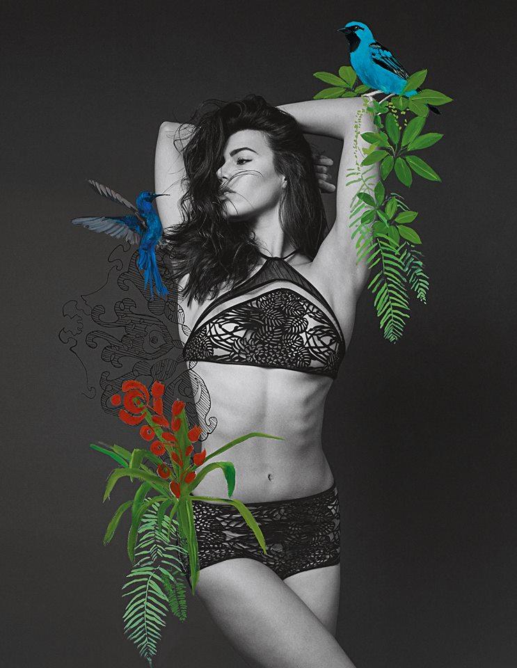 Garotas Tropicais - Foto Rogerio Mesquita - Arte Ludovic Thiriez