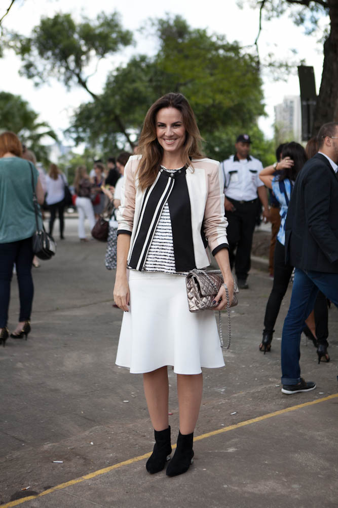 Galeria de fotos street style dia 2 lifestyle ffw Celine fashion street style