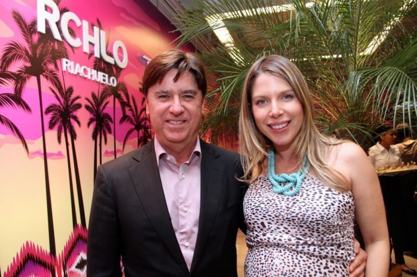 Newton Rocha e Marcella Kanner, respectivamente vice-presidente e gerente de marketing da Riachuelo
