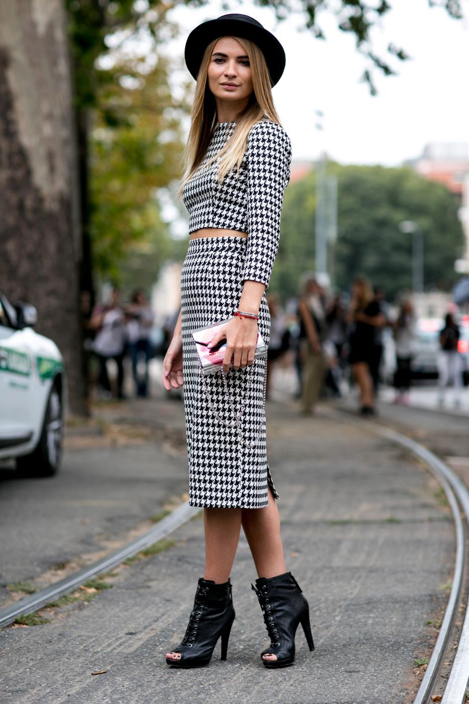 Milan Fashion Week Street Style Dress Shirt