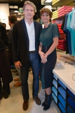 Ricardo Palmari e Solange Francisco, respectivamente CEO e diretora de marketing da Lacoste no Brasil