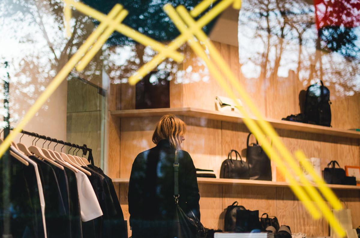 Vitrine da loja The Broken Arm, no Marais, em Paris