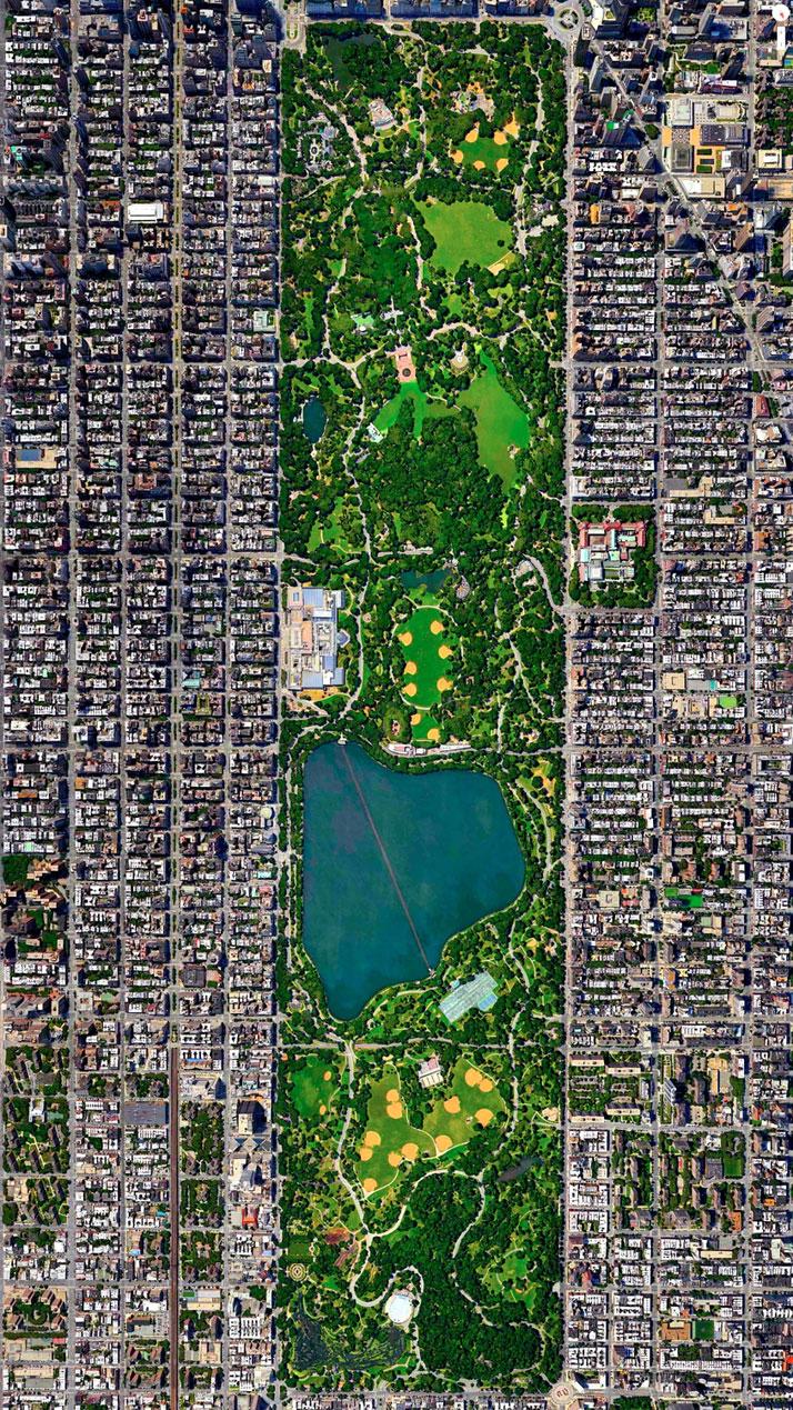Daily Overview Site Traz Fotos Instigantes Da Terra Vista
