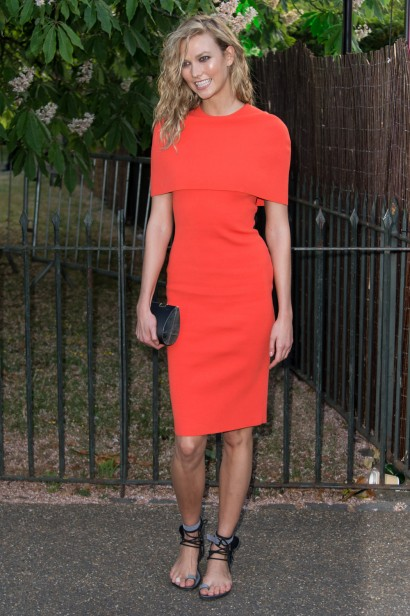 Karlie Kloss veste Stella McCartney