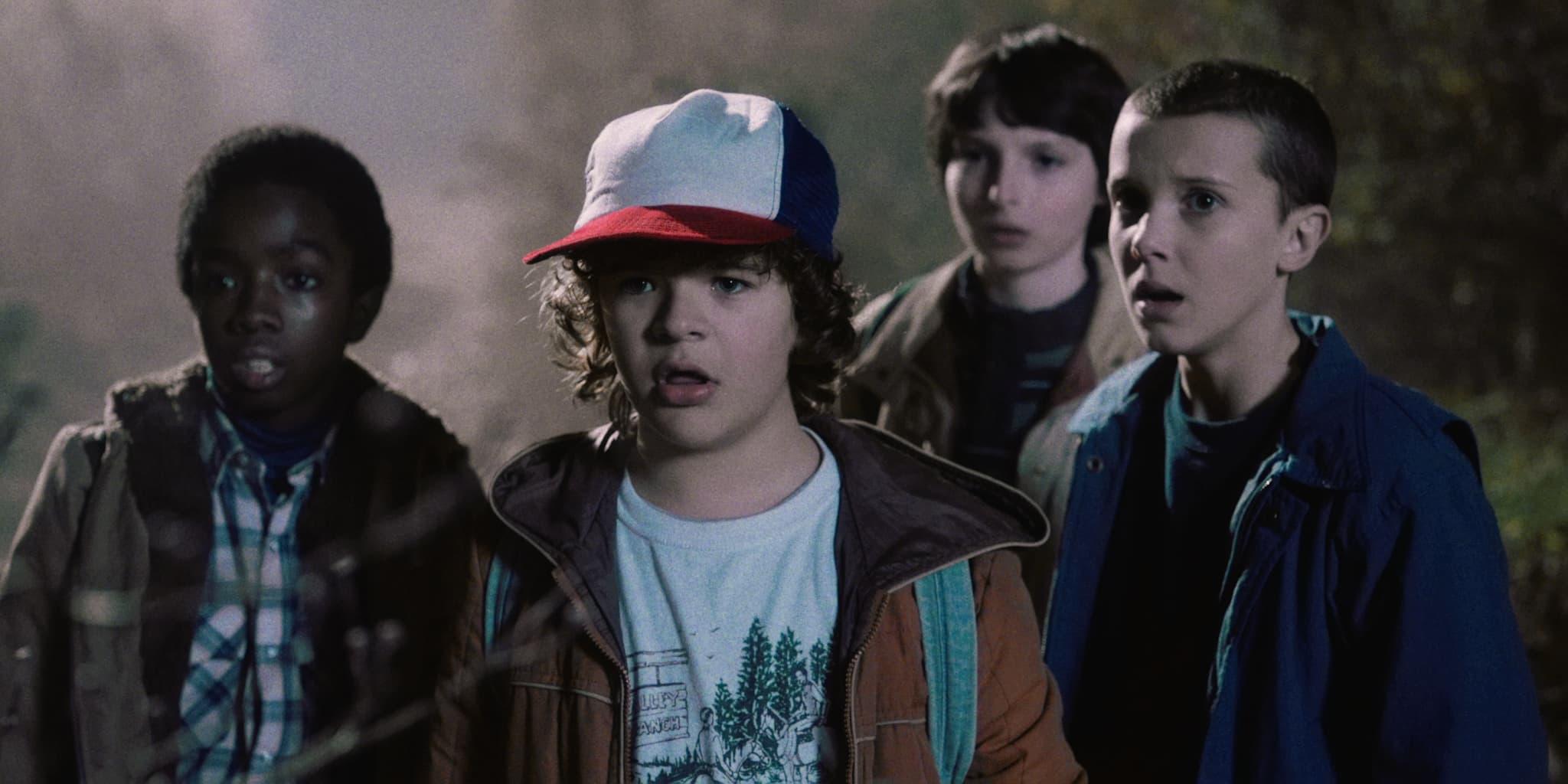 Lucas, Dustin, Mike e Eleven ©Reprodução