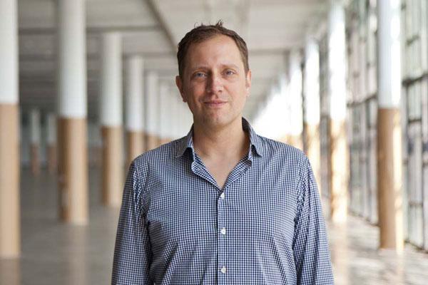 Jochen Volz, curador da 32ª edição da Bienal de São Paulo