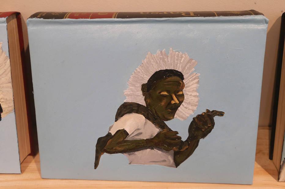 As enciclopédias empoderadoras de Dalton, que sempre retrata pessoas negras
