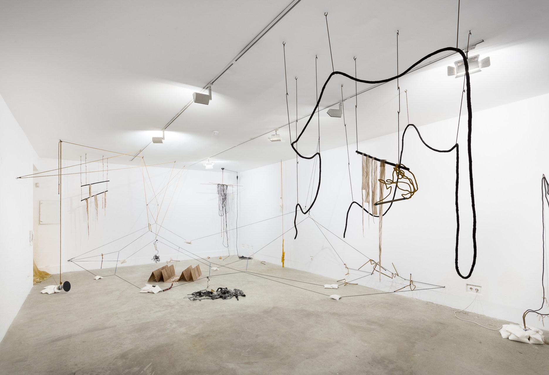 Instalação de Iza Tarasewicz