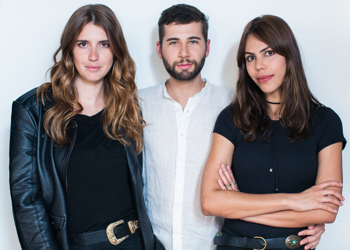 Manuela Bordasch, Arthur Chini e Catharina Dieterich ©Cortesia Steal the Look