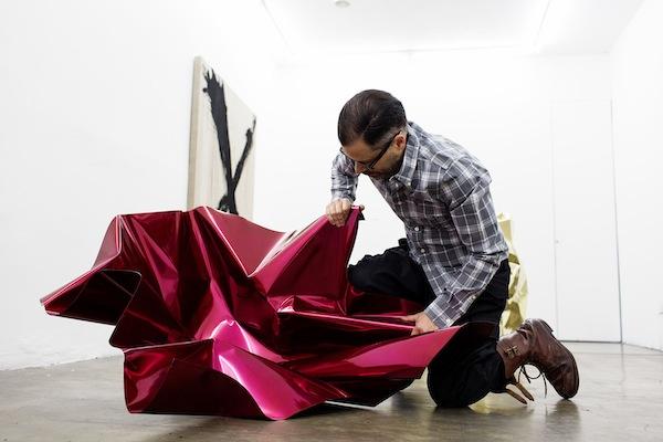 O artista Aldo Chaparro ©Reprodução
