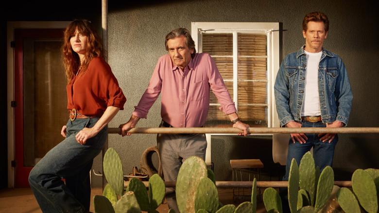 Kathryn Hahn, Kevin Bacon e Griffin Dunne ©Reprodução
