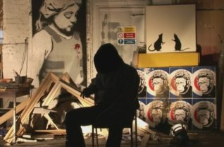 Banksy em cena no doc Exit Through the Gift Shop