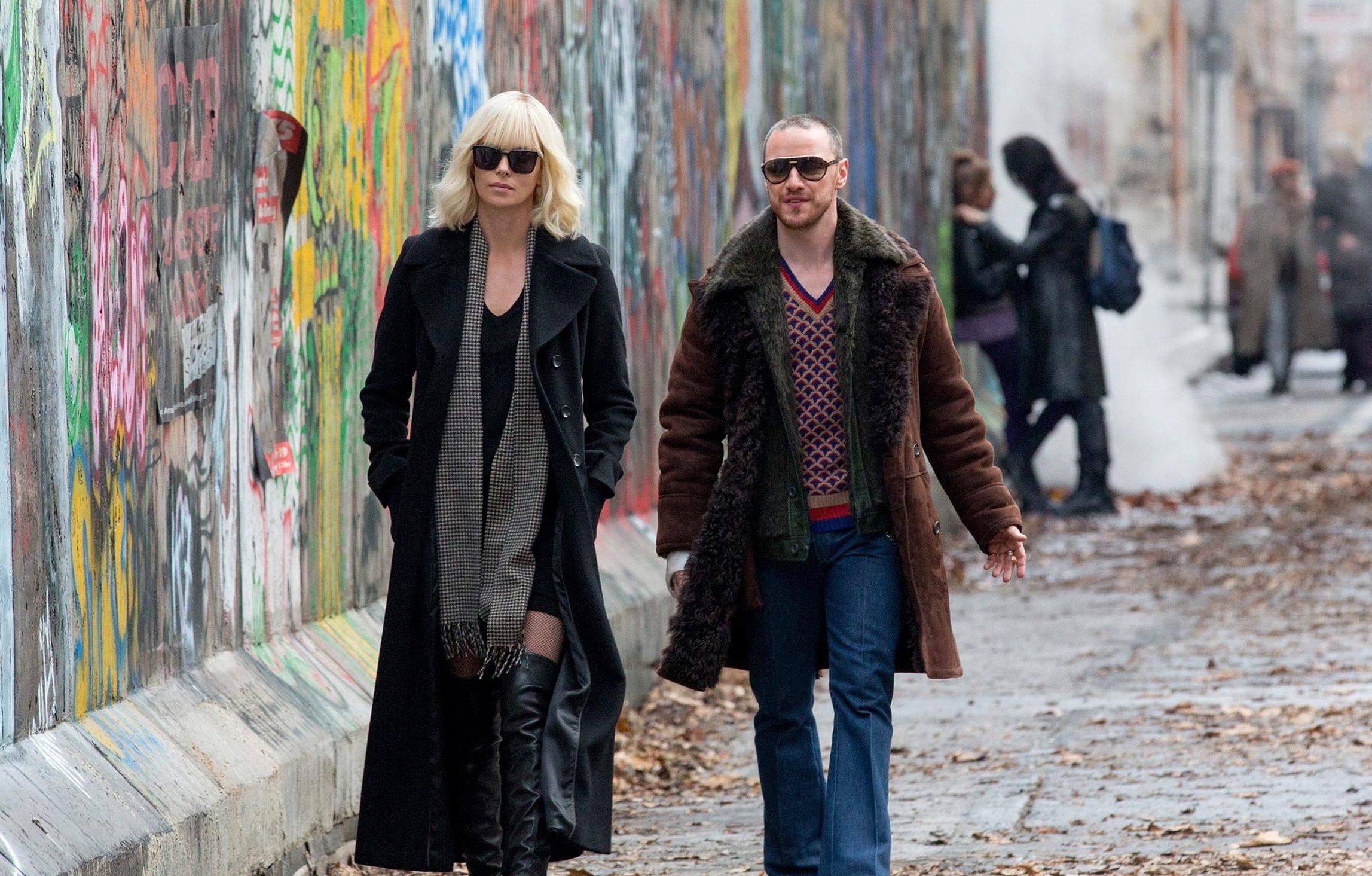 Charlize Theron e James McAvoy ©Reprodução