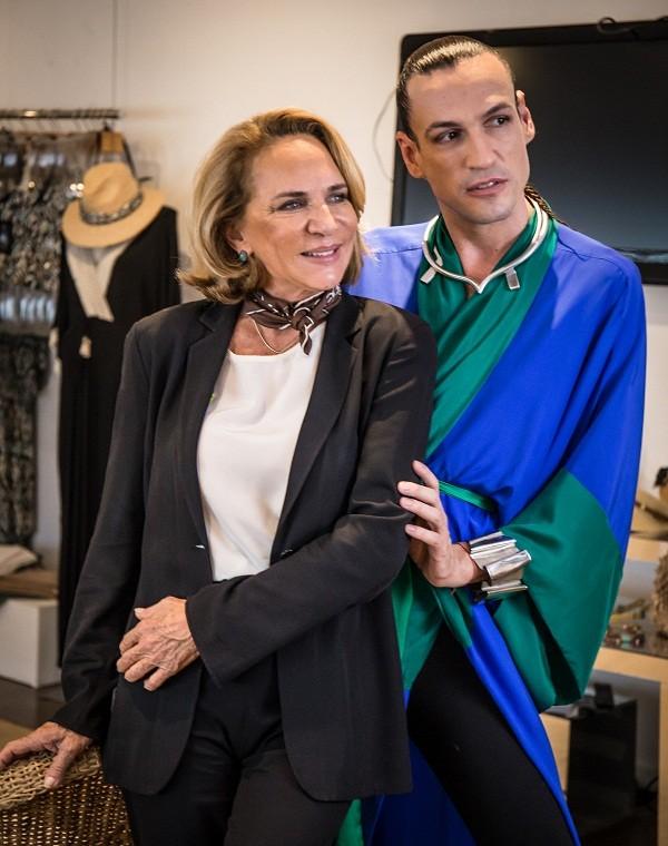 Com Lenny em Nós, Os Fashionistas ©Cortesia