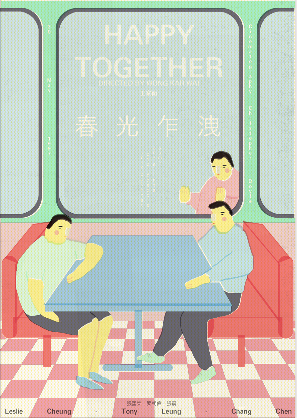 Happy Together, de Wong Kar Wai
