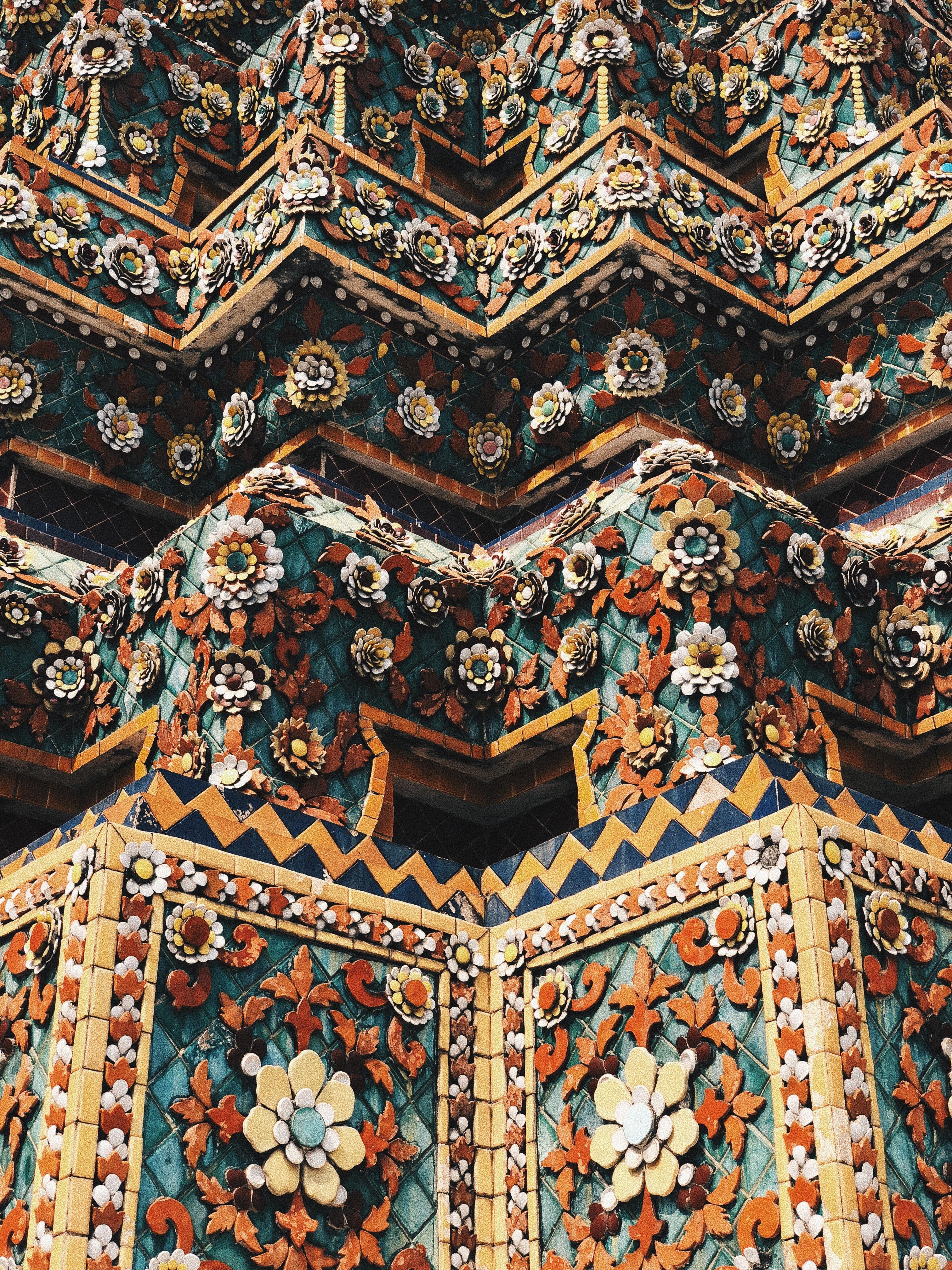 detalhe do templo Wat Arun. Foto: Augusto Mariotti